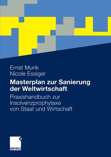 Masterplan zur Sanierung der Weltwirtschaft PDF