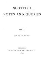Scottish Notes and Queries PDF