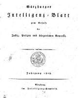 W  rzburger Intelligenzblatt PDF