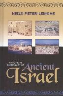 Historical Dictionary of Ancient Israel PDF