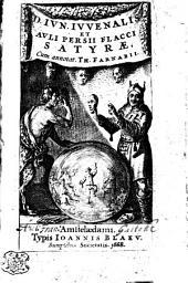 D. Ivn. Ivvenalis Et Avli Persii Flacci Satyrae