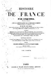 Histoire de France[...]: précédée d'une Notice historique sur la vie et les ouvrages d'Anquetil, Volume2