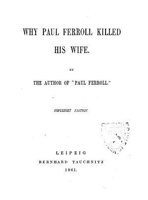 Why Paul Ferroll Killed His Wife