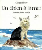 Un chien à la mer