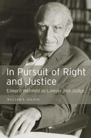 In Pursuit of Right and Justice PDF