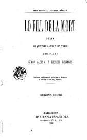 Lo Fill de la mort: drama en quatre actes y en vers
