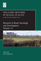 Welfare Reform in Rural Places PDF