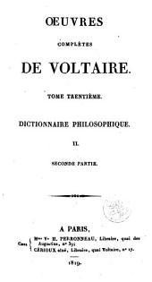 Dictionnaire philosophique: Volume2