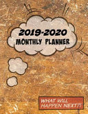 2019-2020 Monthly Planner: 24 Months Monthly Planner and 60 Pages of Weekly Planner, Agenda Planner and Schedule Organizer with Journal Pages - C