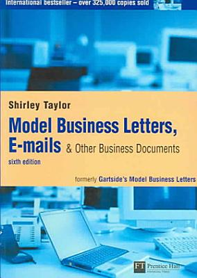 Model Business Letters  E mails   Other Business Documents PDF