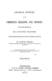 General History of the Christian Religion and Church: Volume 4