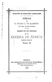 Diario de un testigo de la guerra de África: Volumen 2