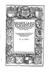Homiliarius Eckii contra sectas
