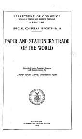 Special consular reports: Volumes 73-76