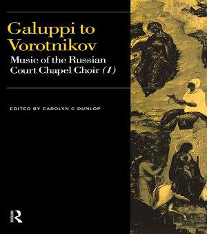 Galuppi to Vorotnikov
