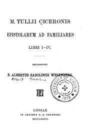 M. Tullii Ciceronis Scripta quae manserunt omnia: Volume 3, Part 1
