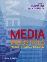 Media Industries PDF