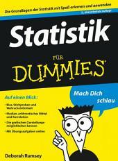Statistik für Dummies: Ausgabe 2