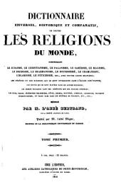 Encyclopédie théologique: ou, Série de dictionnaires sur toutes les parties de la science religieuse ... t. 1-50, 1844-1862; nouv, sér. t. 1-52, 1851-1866; 3e sér, Volume24