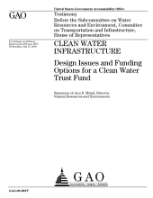Clean Water Infrastructure: Design Issues and Funding Options for a Clean Water Trust Fund: Congressional Testimony