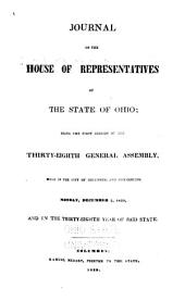 Journal of the House of Representatives of the State of Ohio: Volume 38
