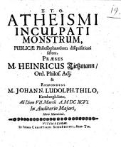 Atheismi inculpati monstrum