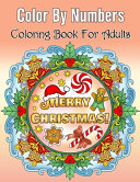 Merry Christmas Color By Numbers Coloring Book For Adults PDF