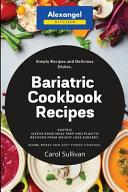 Bariatric Cookbook Recipes Book PDF