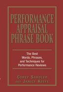Performance Appraisal Phrase Book
