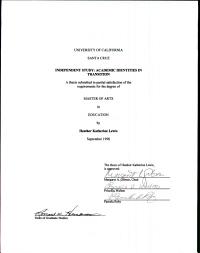 Independent Study PDF