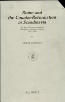 Rome and the Counter Reformation in Scandinavia PDF