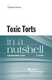 Toxic Torts in a Nutshell: Edition 5