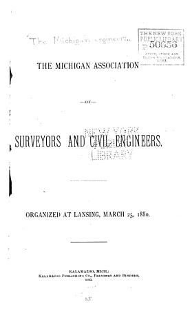 Annual Meeting of the Michigan Association of Surveyors and Civil Engineers PDF