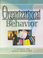 Organizational Behavior PDF