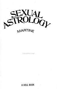 Sexual Astrology PDF