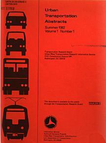 Urban Transportation Abstracts PDF