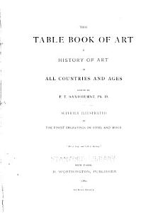 The Table Book of Art PDF