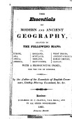 The Essentials Of Modern And Ancient Geography For The Use Of Schools