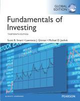 Fundamentals of Investing  eBook  Global Edition PDF
