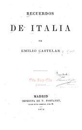 Recuerdos de Italia: Volumen 1