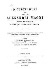 De gestis Alexandri Magni regis Macedonum libri qui supersunt octo: Volume 2