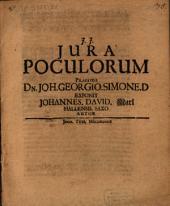 De iuribus poculorum, disp