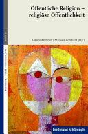 OFFENTLICHE RELIGION   RELIGIOSE OFFENTLICHKEIT PDF