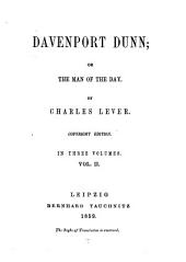 Davenport Dunn: Or, The Man of the Day, Volume 2