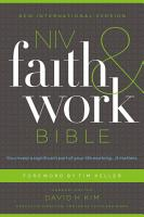 NIV  Faith and Work Bible  eBook PDF