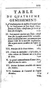 Gemissement d'une Ame vivement touchée de la Destruction du St. Monastère de Port-royal des Champs: Volume4