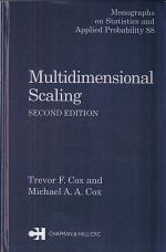 Multidimensional Scaling, Second Edition