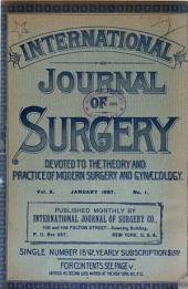 The International Journal of Surgery: Volume 10