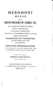 Herodoti Musae; sive, Historiarum libri IX.: [p.1] Liber III, IV et V cum Varietate lectionis