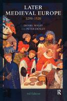 Later Medieval Europe PDF
